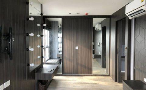 การออกแบบตกแต่งห้องคอนโดสวยเป๊ะ เหมือนกับห้องตัวอย่าง